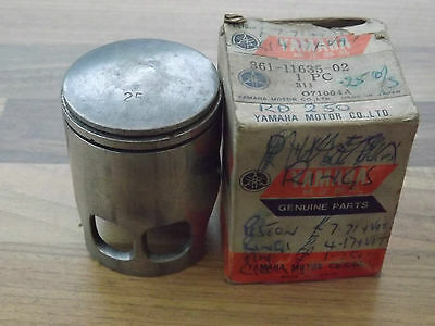 Genuine Yamaha Rd250B +0.25Mm  Oversize Piston