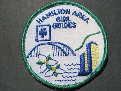 Girl Guides Canada  Hamilton Area Embroidered Patch Scouts Brownies