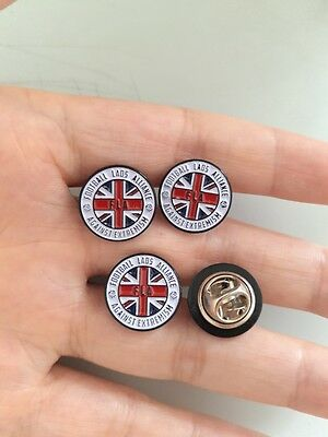 3X FOOTBALL LADS ALLIANCE  pin badge CLEARANCE. 3 BADGES