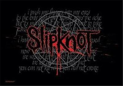 "SLIPKNOT Rock flag/ Tapestry/ Fabric Poster ""Duality""   NEW"