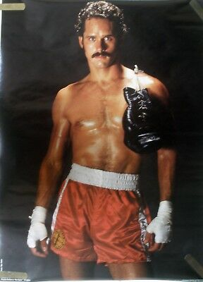 Rare Gregory Harrison The Fighter 1982 Vintage Original Tv Pin Up Poster