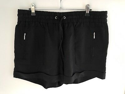 Seed Women's Black Shorts Size 12 Excellent Condition - As New!