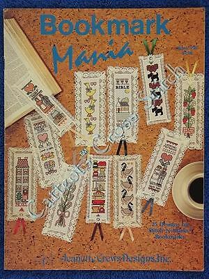 Cross Stitch Pattern Bookmark Mania 25 Designs Various