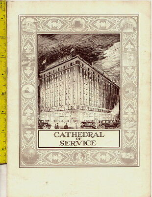 I have a 1927 Consumers Power Company of Michigan Cathedral Of Service booklet