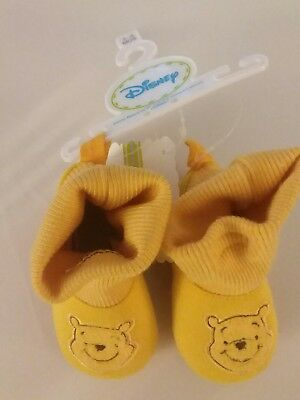 winnie the pooh baby bootie shoe