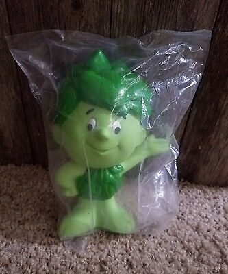 New Unopened Promotional Green Giant Sprout Vinyl Figure 6 1/2 in tall 1996