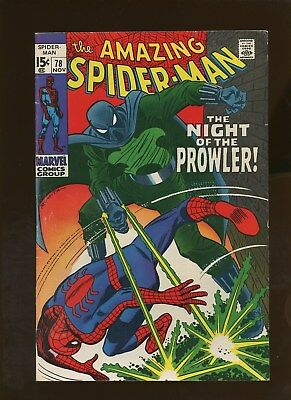 Amazing Spider-Man 78 FN 6.0 * 1 Book Lot * 1st Prowler!!! John Buscema!!!