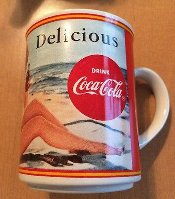 Coca-cola Delicious Through The Years 1950 Coffee Mug