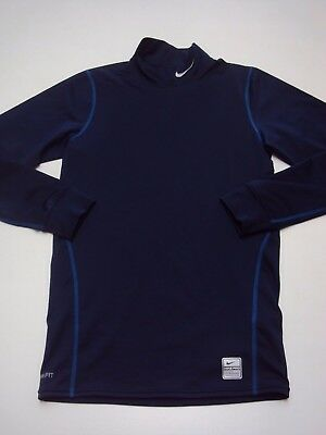Handsome Men's NIKE Fit Dry Athletic Top - Size SMALL - Navy blue - NICE!