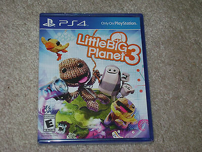 Little Big Planet 3...ps4...***sealed***brand New***!!!!!!