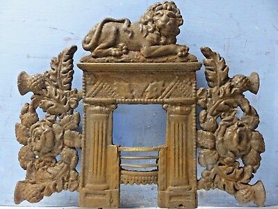 Interesting Very Early Miniature Fireplace Model - Extremely Rare - L@@k