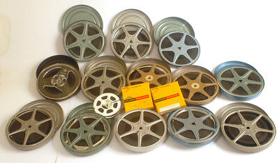 Huge Estate Lot of 8mm Home Movies - - 1960s