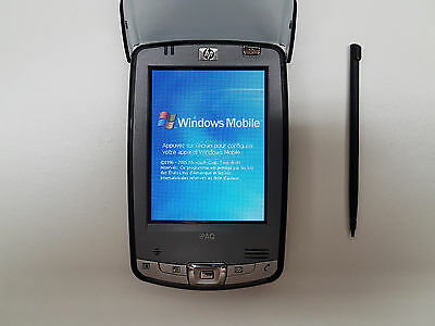 HP iPAQ hx2490b PocketPC PDA FA675B#ABC Windows Mobile 5.0 français TESTED