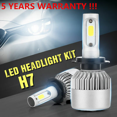 2x H7 300W 30000LM LED PHILIPS Headlight Kit Bulbs High Power Plug Play
