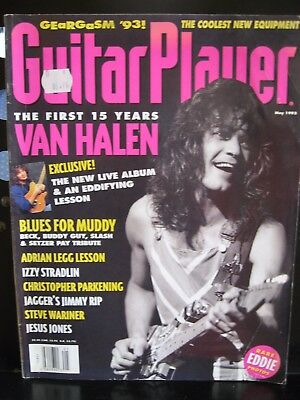 Guitar Player Magazine May 1993 - The First 15 years Van Halen