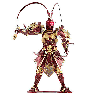 Piececool 3D Metal Puzzle The Monkey King Wukong Models DIY Laser Cut Jigsaw Toy