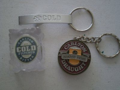 3 Aussie beer advertising  bottle openers - Carlton Draught,  Carlton Cold