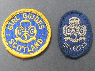 Girl Guides Scotland Patch  & Uk Patch Scouts Britain United Kingdom