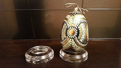 1 XLarge ROUND Dimple Display Stand Holiday Egg Easter Christmas Ornament