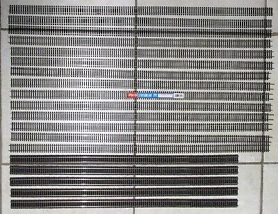 19 Lengths of HO OO Gauge Model Railway Flex Track by Peco, Atlas & Fleischmann