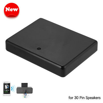 30Pin Wireless Bluetooth Music Receiver Adapter Audio for iPhone iPad iPod AC904