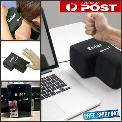 Big Enter Anti Stress Relief Supersized Enter Key Unbreakable USB Pillow Lot GT