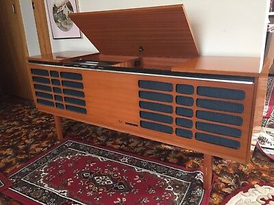 stereo gramophone, record player cabinet
