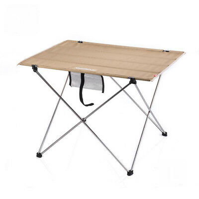 Outdoor Oxford Collapsible Tables Aluminium Alloy Fold-Away Table For BBQ Picnic