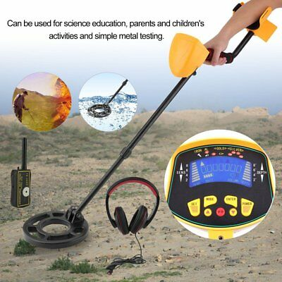 Deep Sensitive Metal Detector Searching Gold Digger Treasure Hunter LCD AU