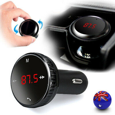 Wireless Bluetooth LCD FM Transmitter Modulator Car Kit MP3 Player SD w/Remote