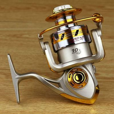 10BB Ball Bearing Metal Saltwater Freshwater Fishing Spinning Reel 5.5:1 EF2000