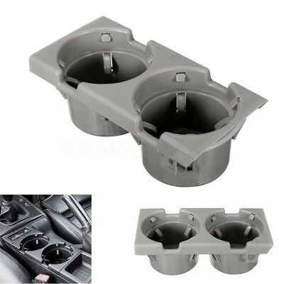 Grey Front Center Console Drink Cup Holder For BMW E46 3 Series # 51168217953