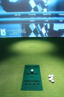 ProTee Professional Golf Simulator 100 + Courses + TGC 100,000 online courses
