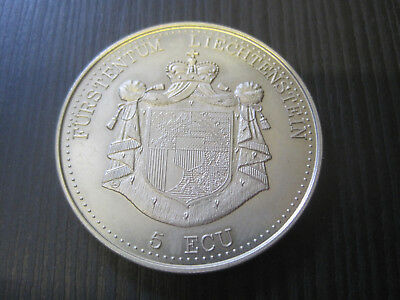 5 Ecu Liechtenstein 1993   #3026