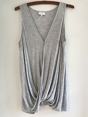 Witchery Women's Grey Top Size L Excellent Condition