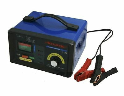Heavy Duty 2A 10A 55A 12V 6V Battery Charger Trickle Booster Car Vehicle Van