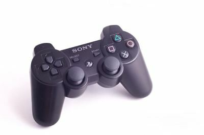 Official Original Genuine Sony Dual Shock 3 PS3 Wireless Controller Pad Black