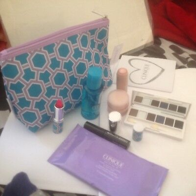 Clinique Bonus Gift Set/7-Items+Cos Bag/HOLIDAYS/BIRTHDAY/PARTY/Christmas Gift.