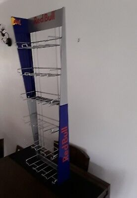 Red Bull Rhombus Triple Hanging Rack Display New And Boxed