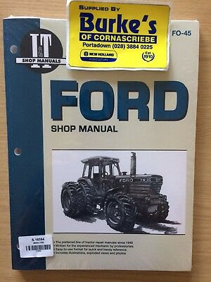 Ford Tw-5 Tw-15 Tw-25 Tw-35 Workshop Manual