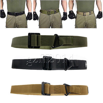 one Emergency Rescue Military Rigging Rigger Tactical Belt Adjustable GZFF