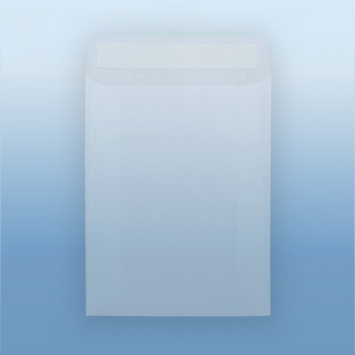 Glassine Peel and Seal Pocket Envelopes 4 SIZES AVAILABLE - Plastic alternative