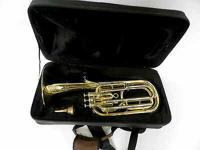 Tenor Horn  Sakshorn Euphonium York 357 Lacquer Perfect Condition 108