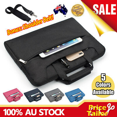 """Notebook Laptop Sleeve Case Shoulder Carry Bag Pouch Cover 11 13 14 15.6 16 17"""""""