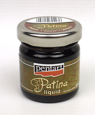 Pentart Liquid Patina 30ml Bitumen for Antiquing Decoupage