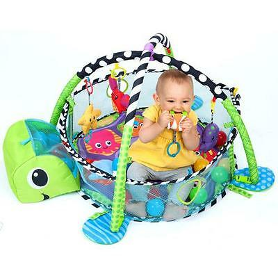 Baby Activity Center Gym Ball Pit Play Exercise Mat Infant Toddlers