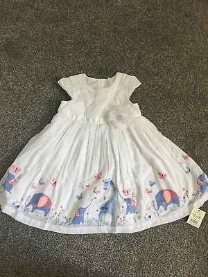 Baby Girls 12-18 Months George Dress Brand New With Tags