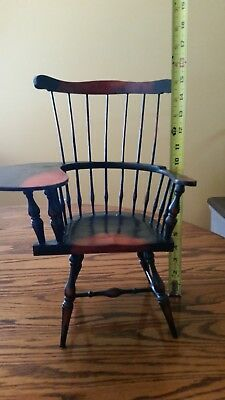 Vintage Windsor Style Wooden Spindle Chair (American Girl Style)