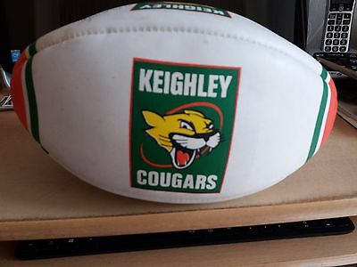 Keighley Cougars Signed Rugby League Ball