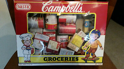 Vintage Campbell's Groceries Play by NASTA 1989 - BRAND NEW